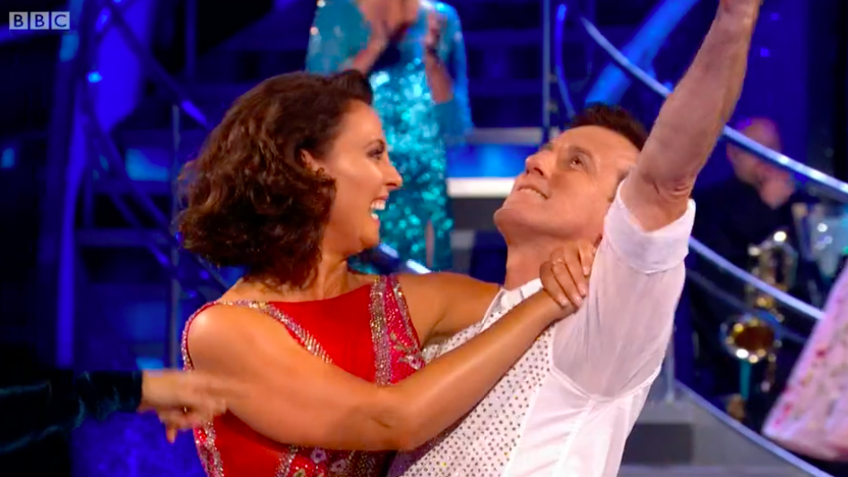 Strictly Come Dancing offers fans a glimpse of Anton du Beke and Emma Barton's first dance