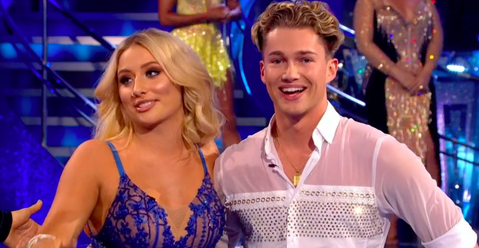 Strictly's AJ Pritchard and Saffron Barker hang out with his brother Curtis and Maura Higgins