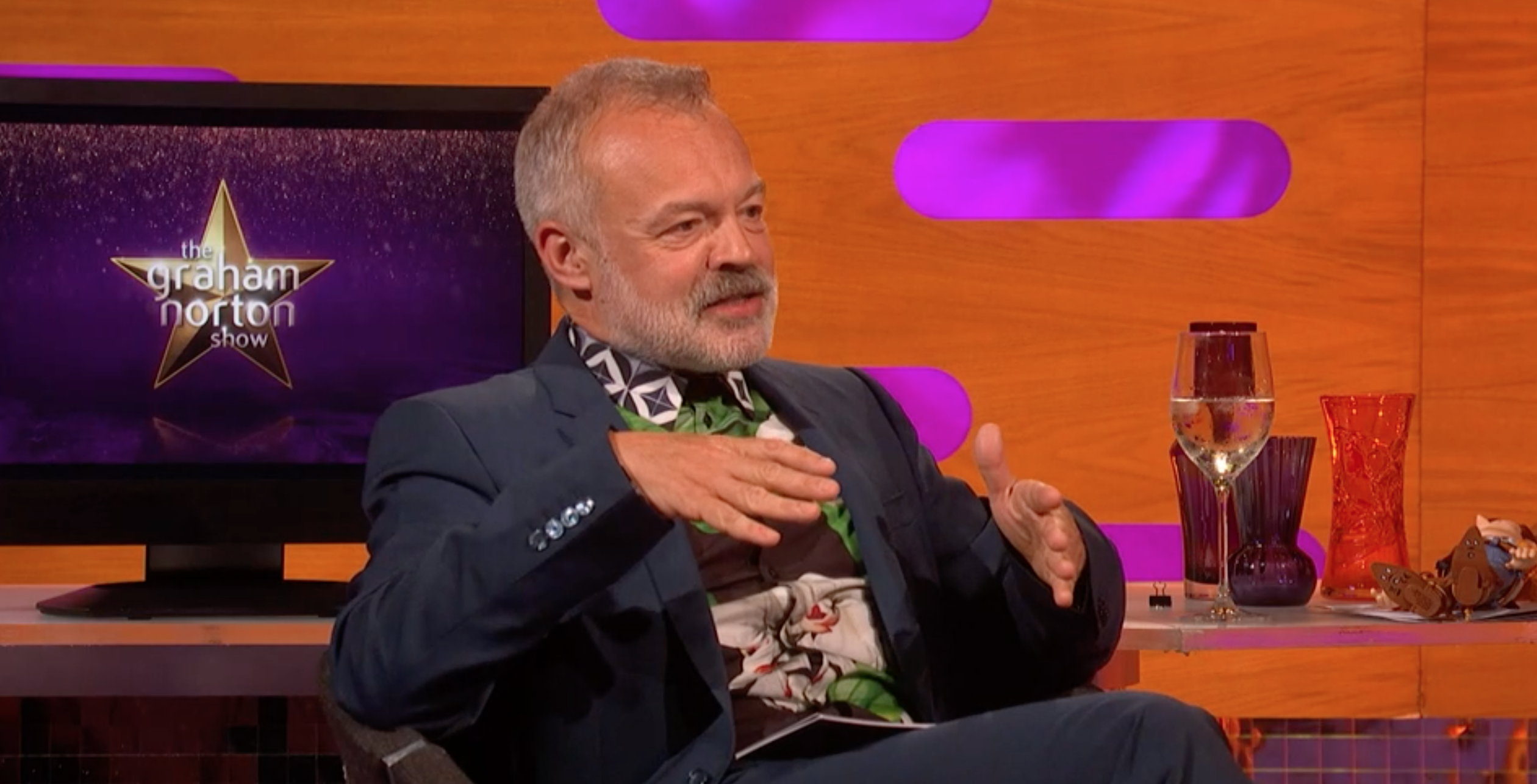 Graham Norton says it would be 'ideal' if he could strip his TV commitments back by a third