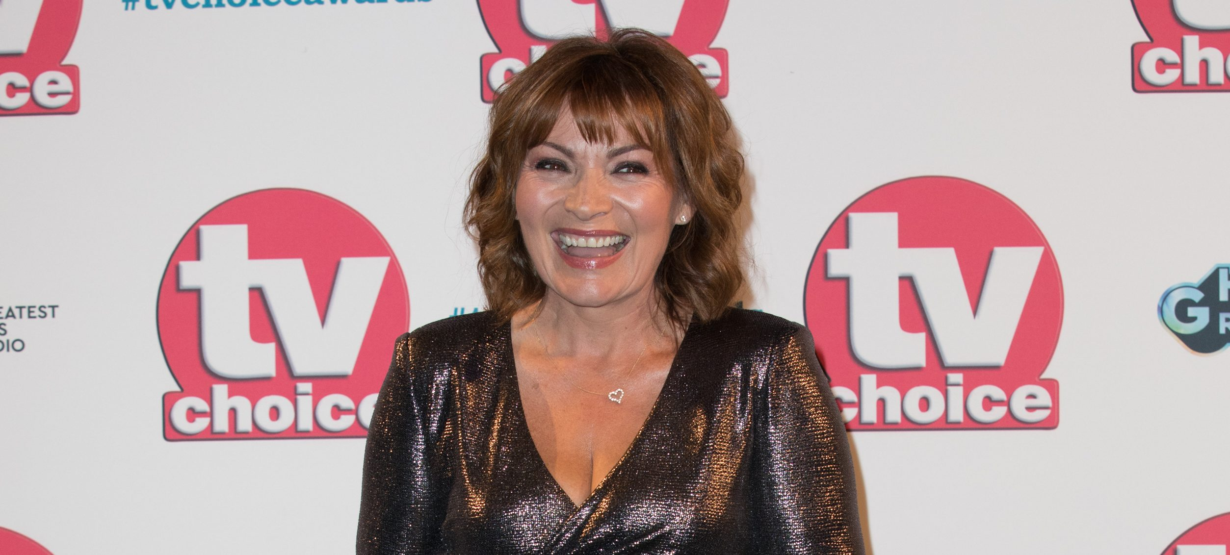 Lorraine Kelly hits out at social media trolls in TV Choice Awards speech