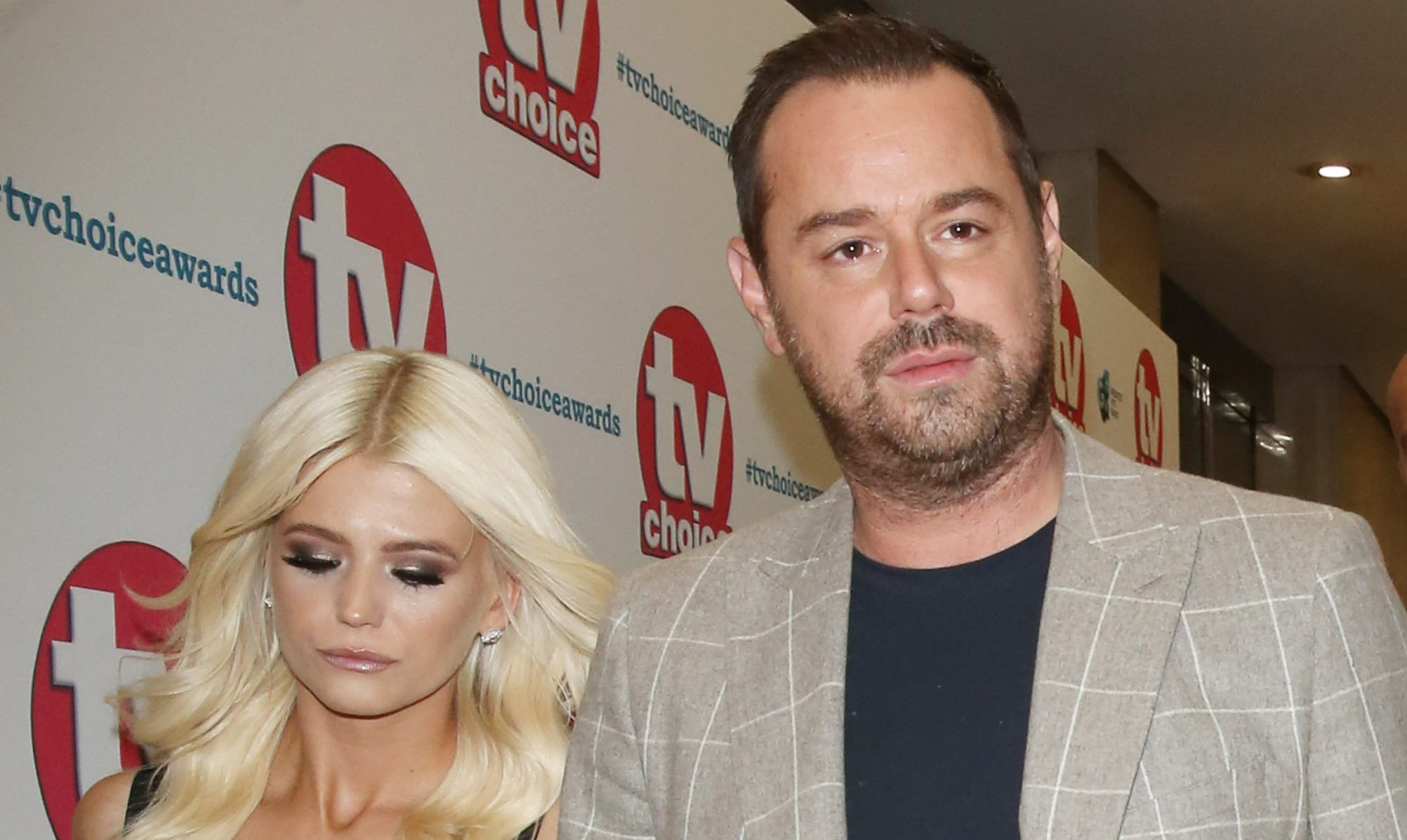 Danny Dyer rubbishes claims of row with co-star Danielle Harold