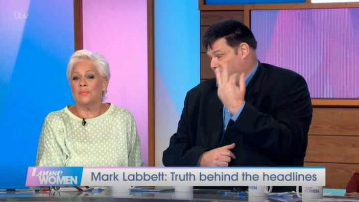 Mark Labbett on Loose Women