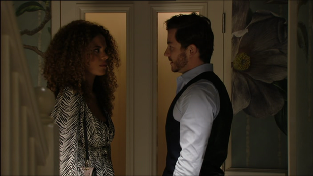 Chantelle and Gray EastEnders