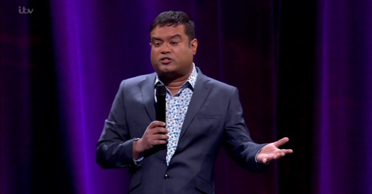 Paul Sinha performing on 'Tonight at the London Palladium'. Broadcast on ITV1 HD. Featuring: Paul Sinha Where: United Kingdom When: 04 May 2016 Credit: Supplied by WENN **WENN does not claim any ownership including but not limited to Copyright, License in attached material. Fees charged by WENN are for WENN's services only, do not, nor are they intended to, convey to the user any ownership of Copyright, License in material. By publishing this material you expressly agree to indemnify, to hold WENN, its directors, shareholders, employees harmless from any loss, claims, damages, demands, expenses (including legal fees), any causes of action, allegation against WENN arising out of, connected in any way with publication of the material.**