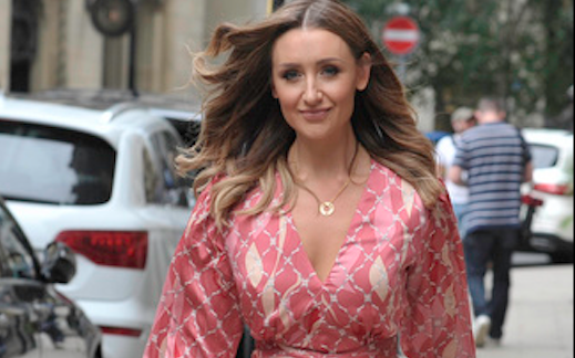 Catherine Tyldesley believes Strictly has helped her with body issues