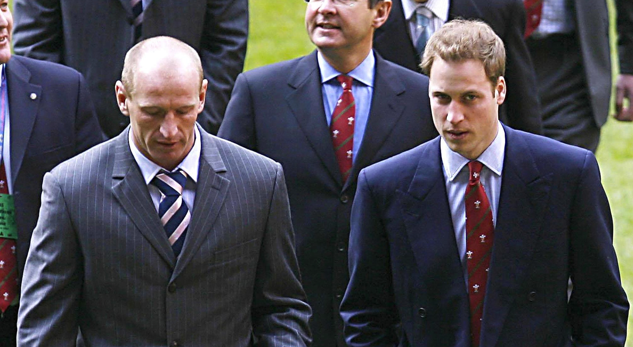 Prince William and Kate Middleton offer their support to 'legendary' Gareth Thomas
