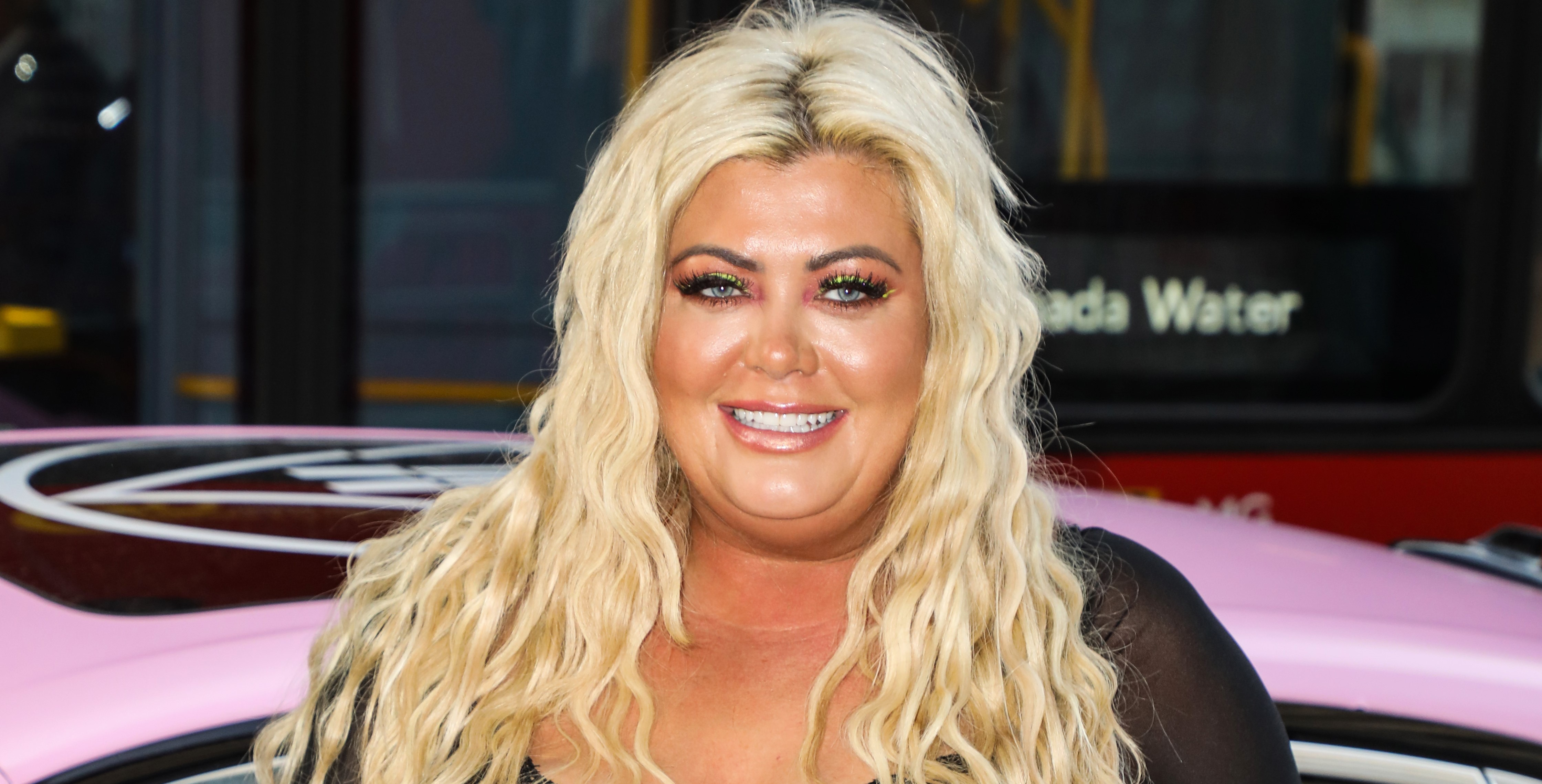 Gemma Collins shows off weight loss as she flashes bra in sheer top
