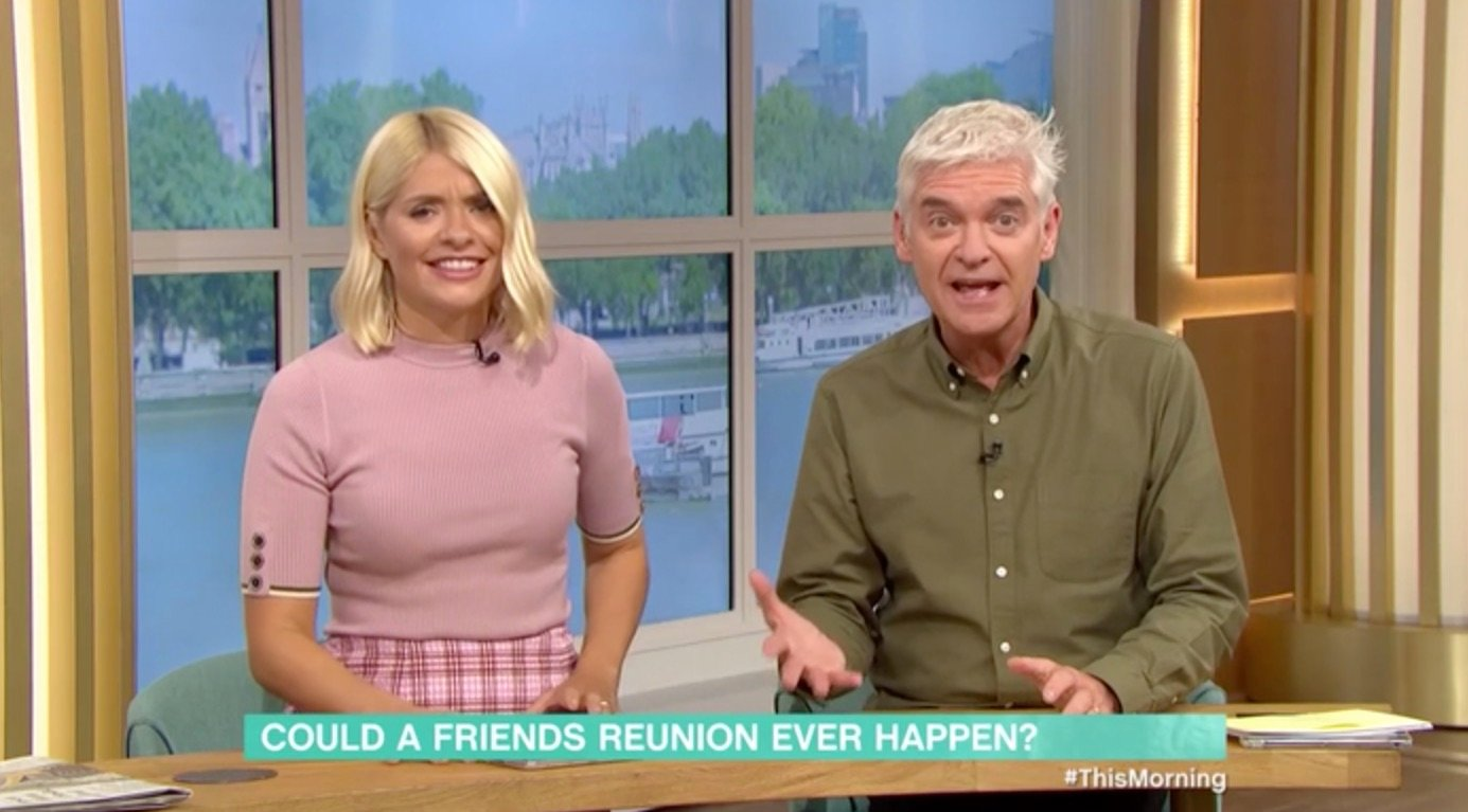 Phillip Schofield reveals that he was in an episode of Friends