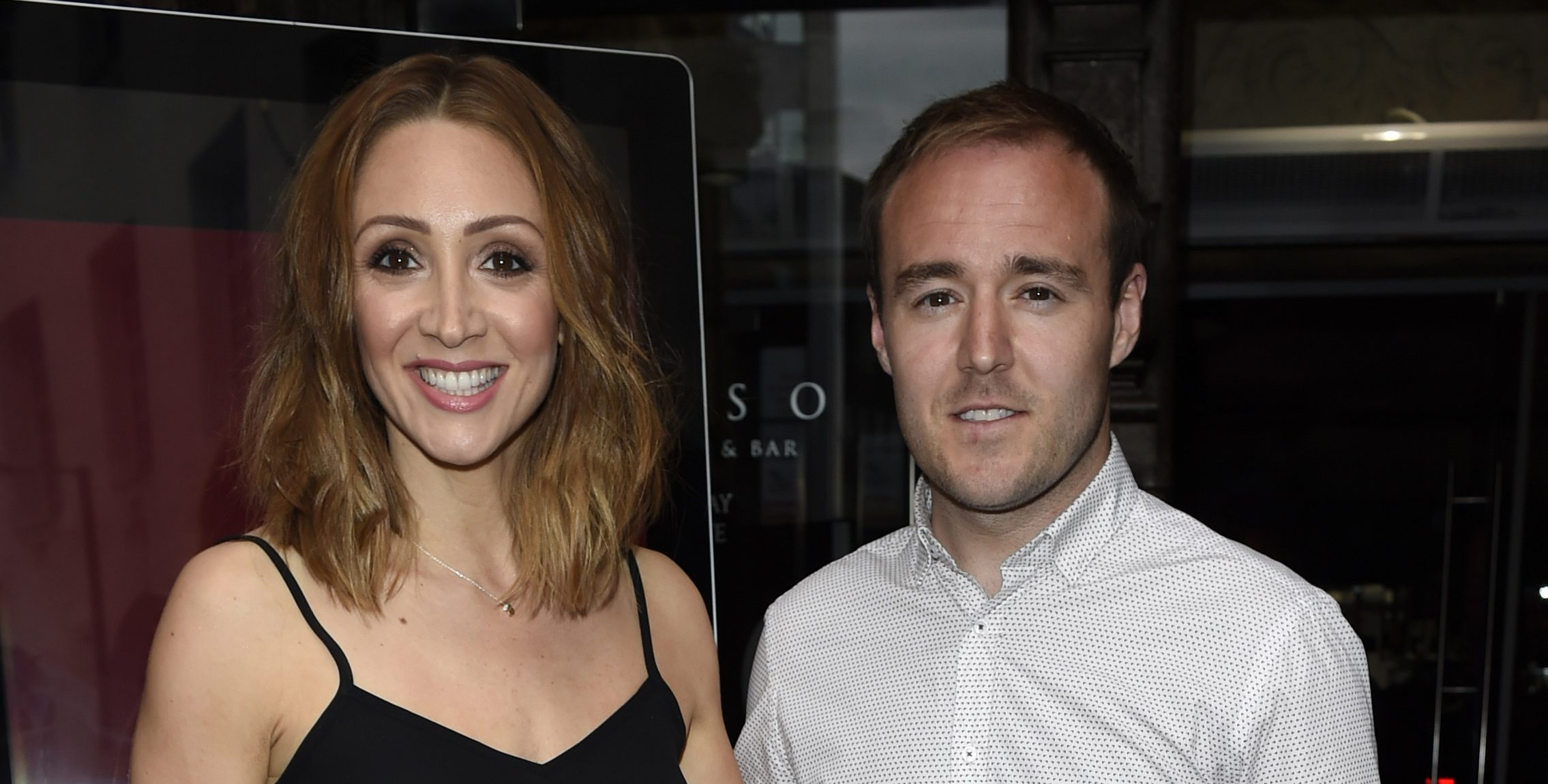Lucy-Jo Hudson is 'worried' ex Alan Halsall will share details of their marriage split on I'm A Celeb
