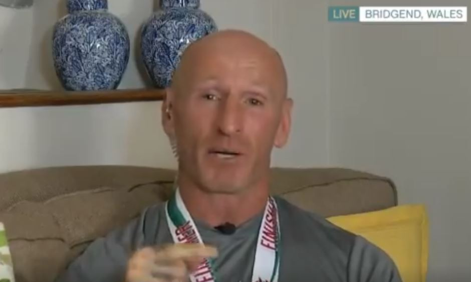 Gareth Thomas fights back tears after admitting he had 'suicidal thoughts' amid HIV diagnosis