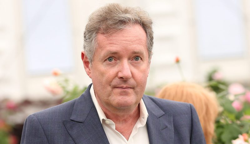 Piers Morgan explains his bizarre behaviour on today's Good Morning Britain