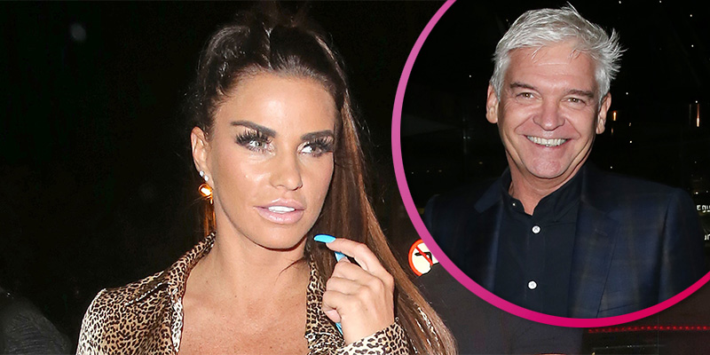 Katie Price calls out Phillip Schofield for scolding her for saying n-word on live TV