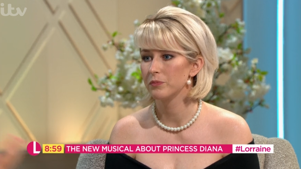 Lorraine viewers baffled by Princess Diana actress who 'looks nothing like her'