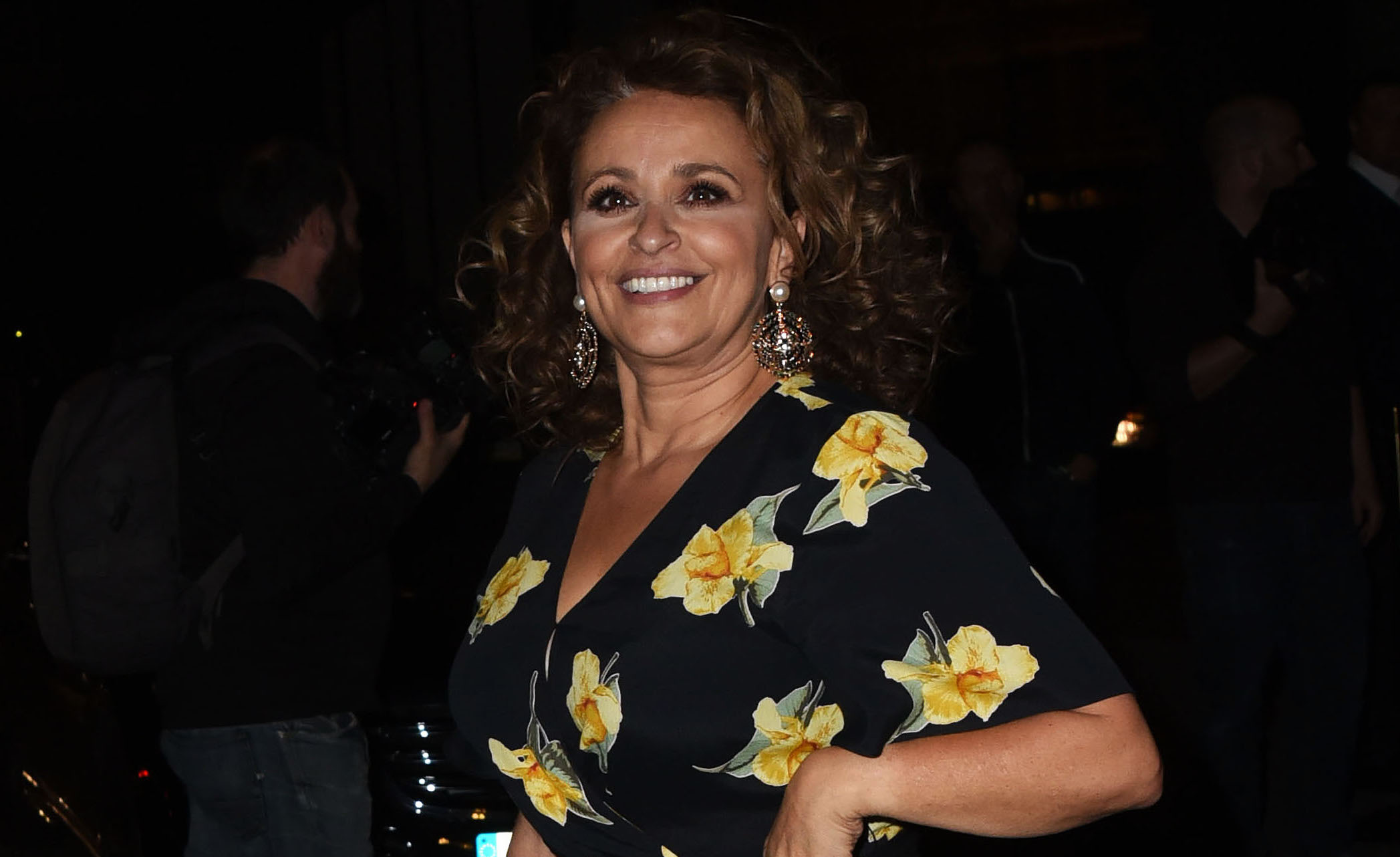 Nadia Sawalha amazes fans with bizarre bra flashing throwback picture