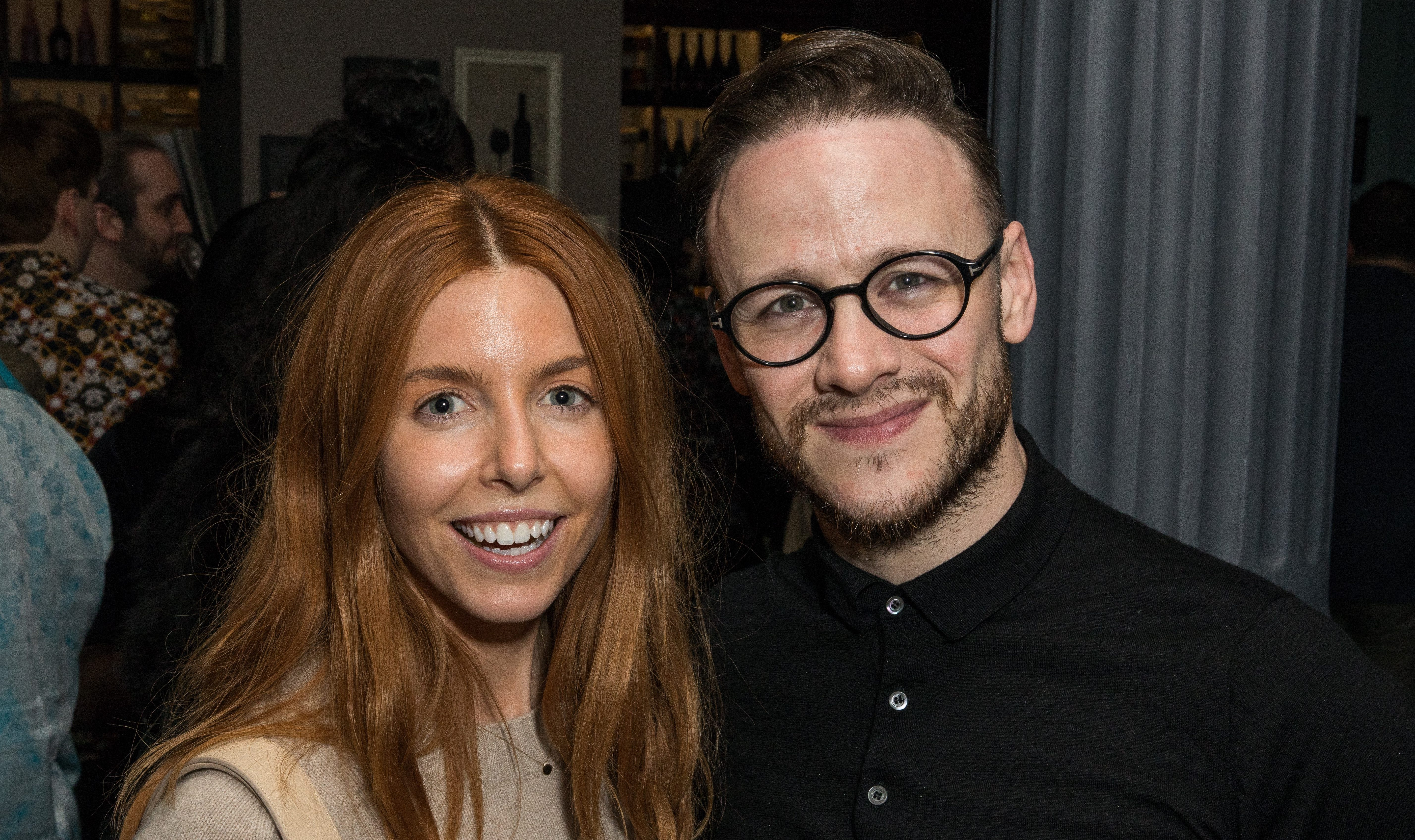 Strictly Come Dancing's Kevin Clifton kisses Stacey Dooley in rare romantic photo