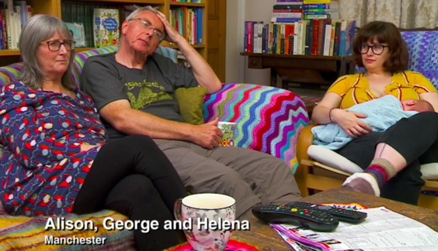 Gogglebox's Helena praised for 'normalising' breastfeeding