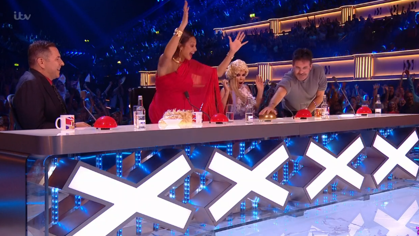 BGT: The Champions fans divided over Simon Cowell's golden buzzer choice