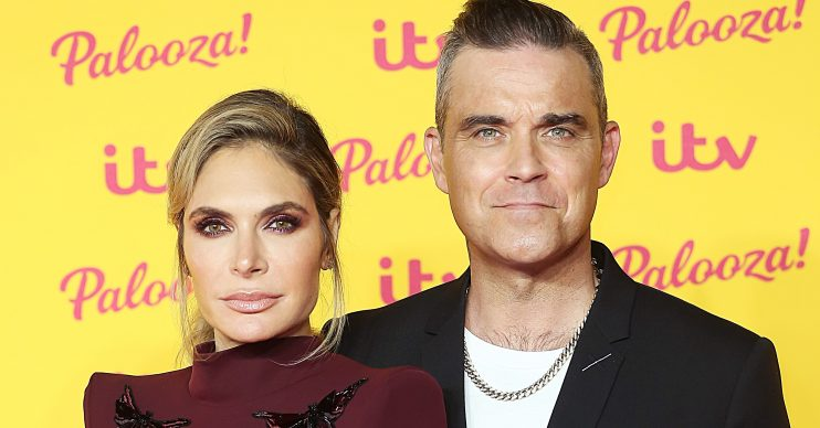 Ayda and Robbie Williams