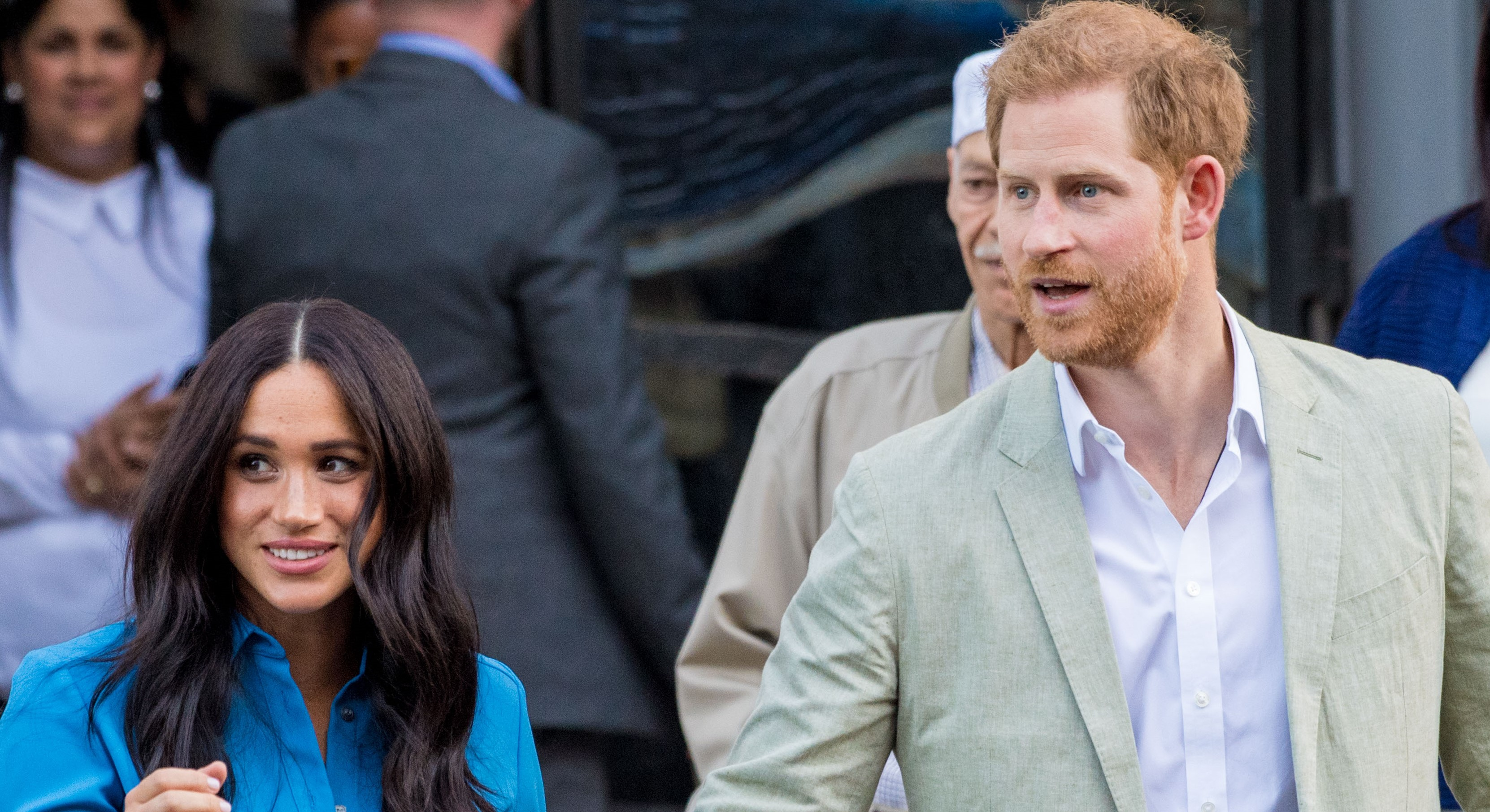 Meghan pays tribute to Harry with son Archie's first royal tour outfit