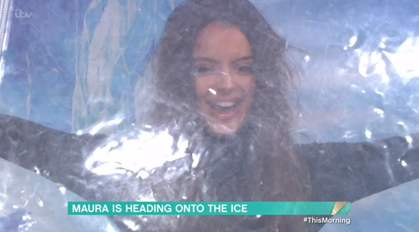 Maura Higgins on This Morning - Credit: ITV