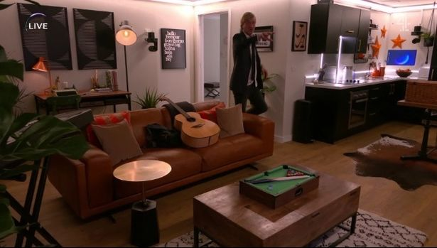 The Circle: Richard Madeley trips up as he enters his apartment