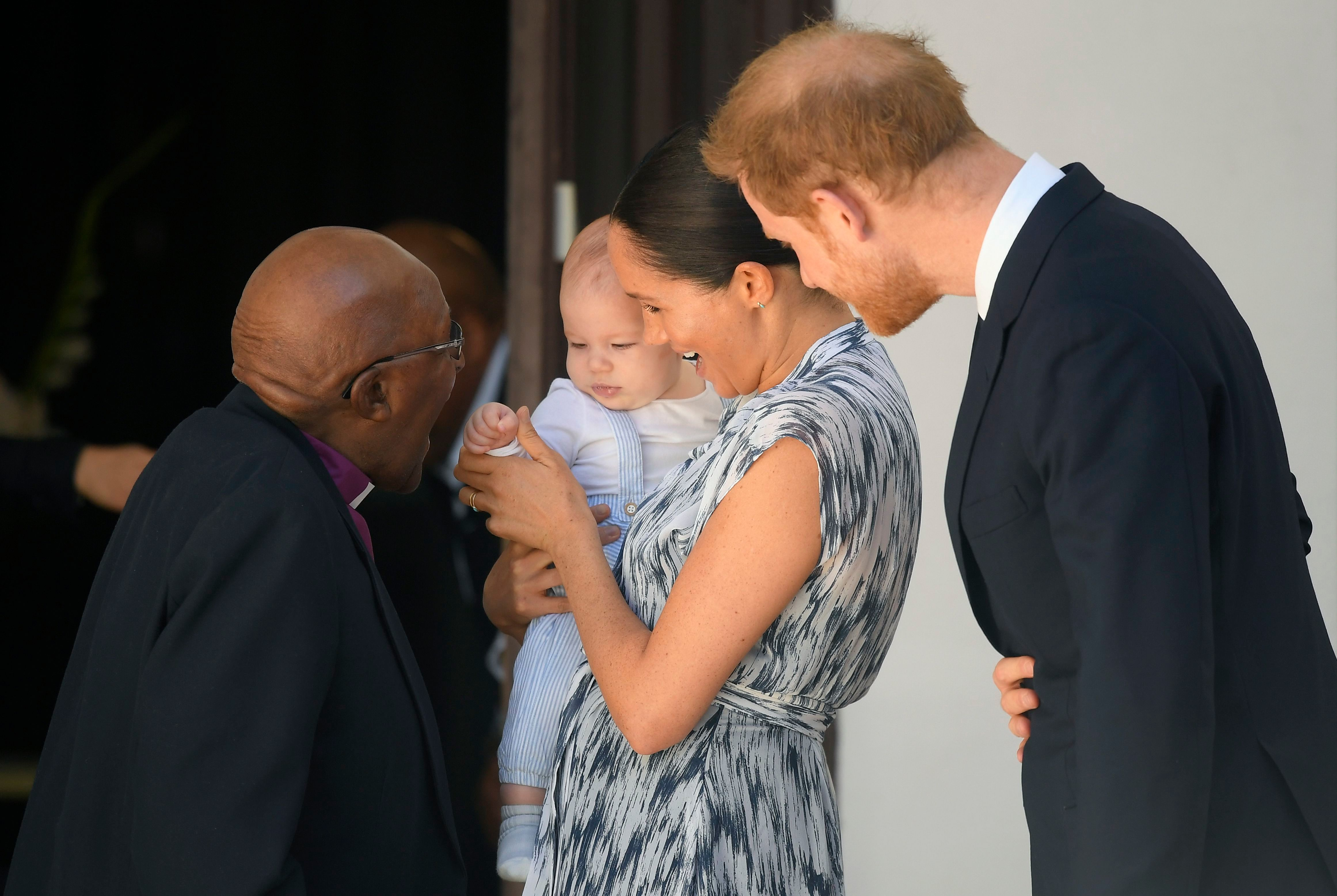 Archie steals the show as he makes royal tour debut with Harry and Meghan
