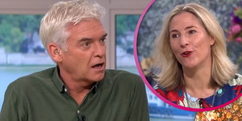 This Morning fans in hysterics over Phillip Schofield's intimate question to sex coach