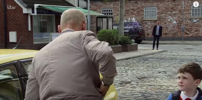 Coronation Street Billy Kel and Joseph Credit: ITV/YouTube