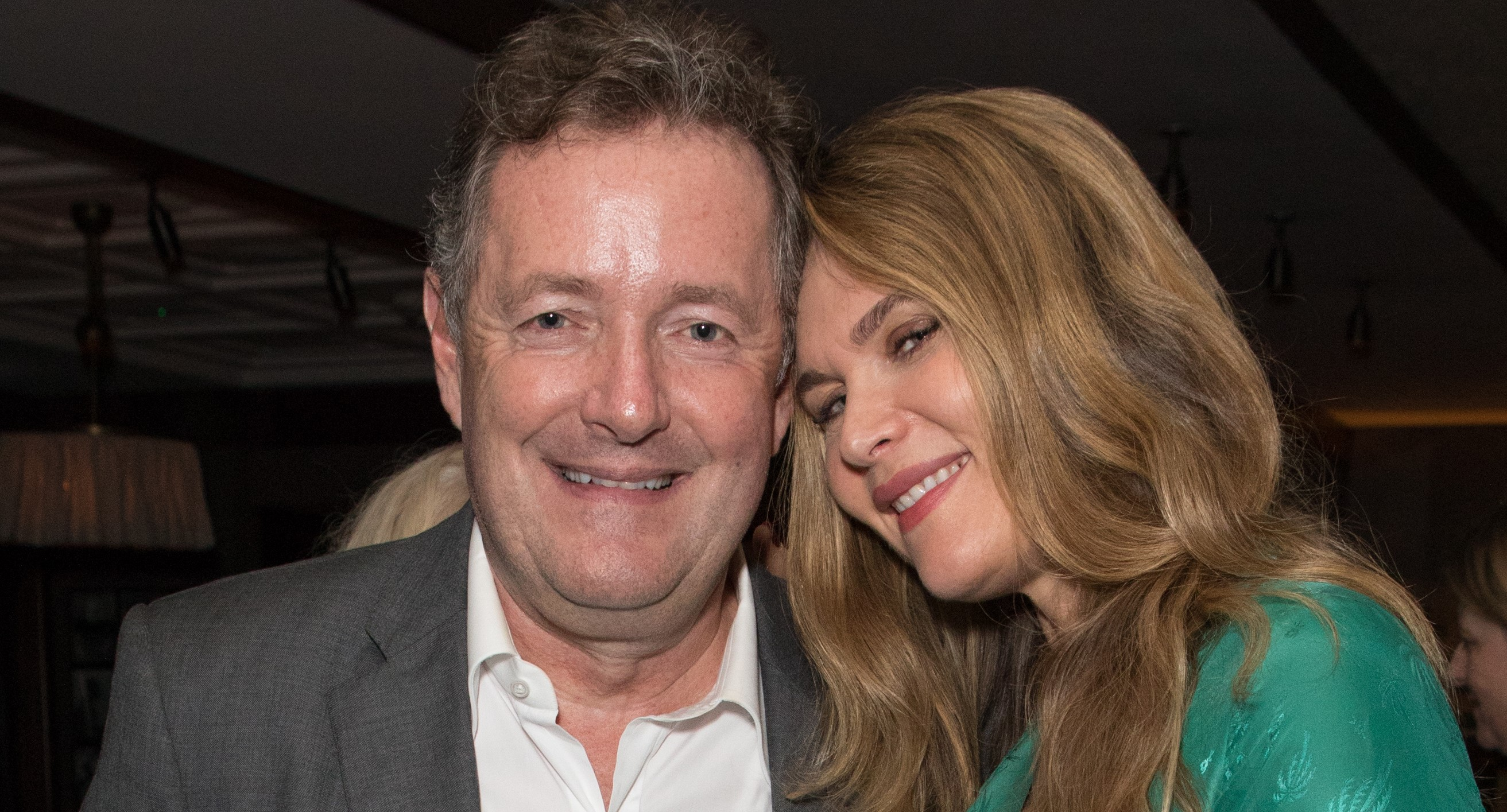 Piers Morgan and wife Celia laugh off claims he's 'risking his marriage' for GMB co-star Susanna Reid