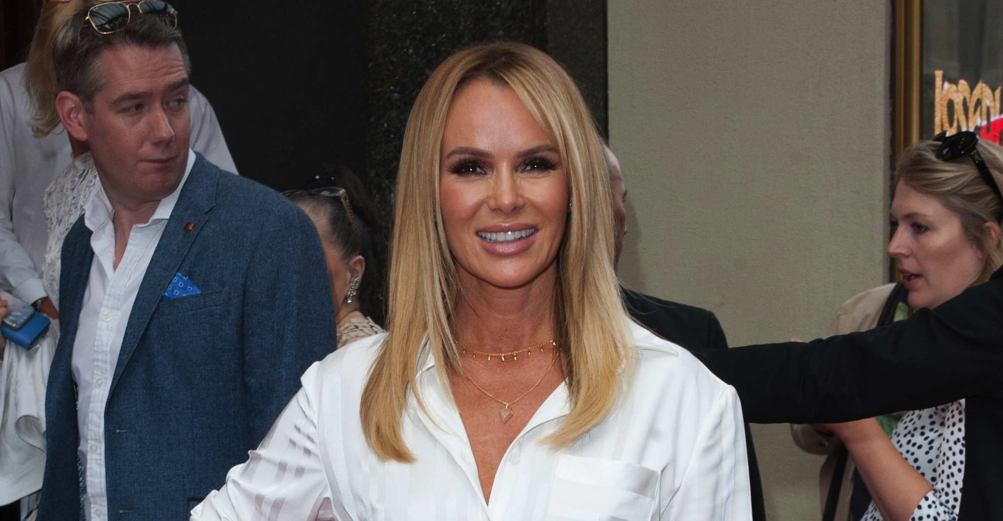 Amanda Holden shares photo of herself in the recording studio as she embarks on new career