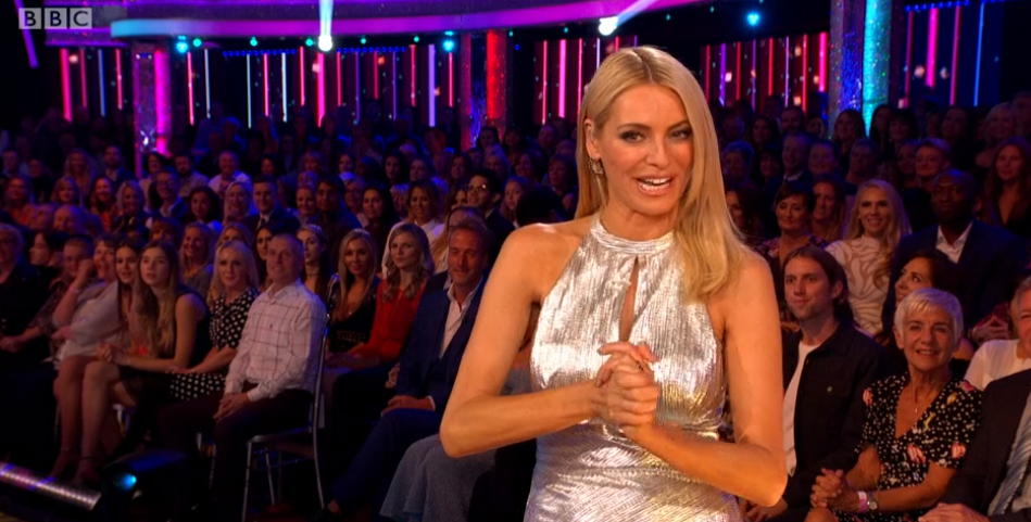 Tess Daly Strictly Credit: BBC