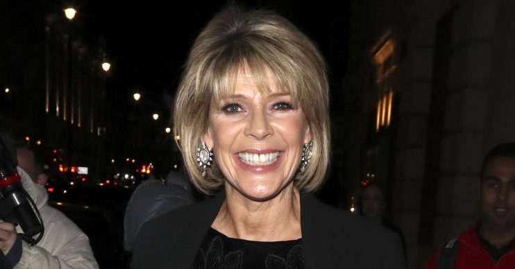 Television presenters Eamonn Holmes and Ruth Langsford were seen at the 'This Morning' 30th Anniversary Gala in London, UK. Pictured: Ruth Langsford Ref: SPL5029753 011018 NON-EXCLUSIVE Picture by: SplashNews.com Splash News and Pictures Los Angeles: 310-821-2666 New York: 212-619-2666 London: +44 (0)20 7644 7656 Berlin: +49 175 3764 166 photodesk@splashnews.com World Rights