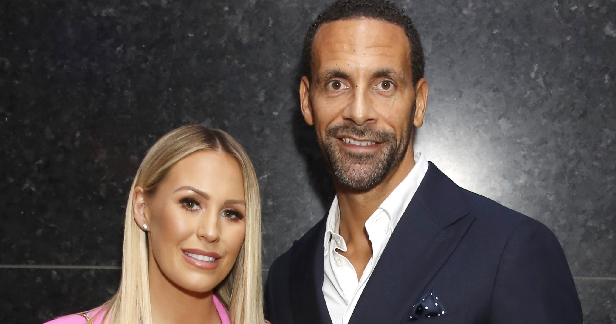 Rio Ferdinand has a ball as he weds Towie star Kate Wright