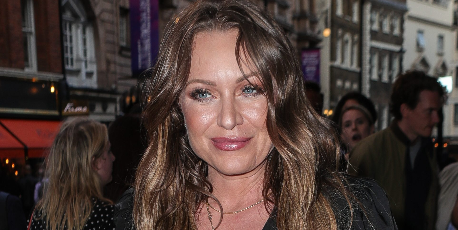 Girl on the Train press night arrivals at the Duke of York's Theatre Pictured: Rita Simons Ref: SPL5106772 300719 NON-EXCLUSIVE Picture by: SplashNews.com Splash News and Pictures Los Angeles: 310-821-2666 New York: 212-619-2666 London: +44 (0)20 7644 7656 Berlin: +49 175 3764 166 photodesk@splashnews.com World Rights