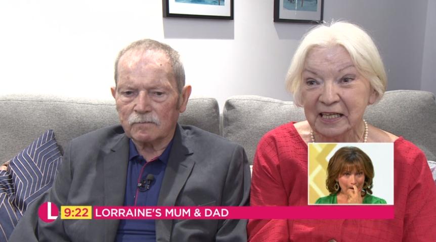 Lorraine Kelly's parents - Credit: ITV