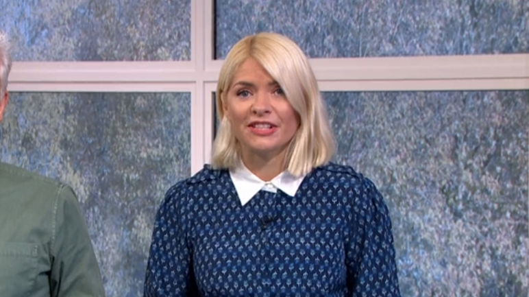 This Morning viewers think Holly Willoughby looked like 'a prim school teacher' on today's show