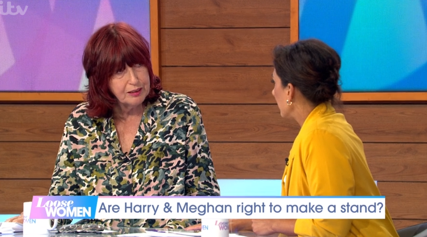 Janet Street Porter and Saira Khan clash over 'privileged' Meghan after her legal announcement