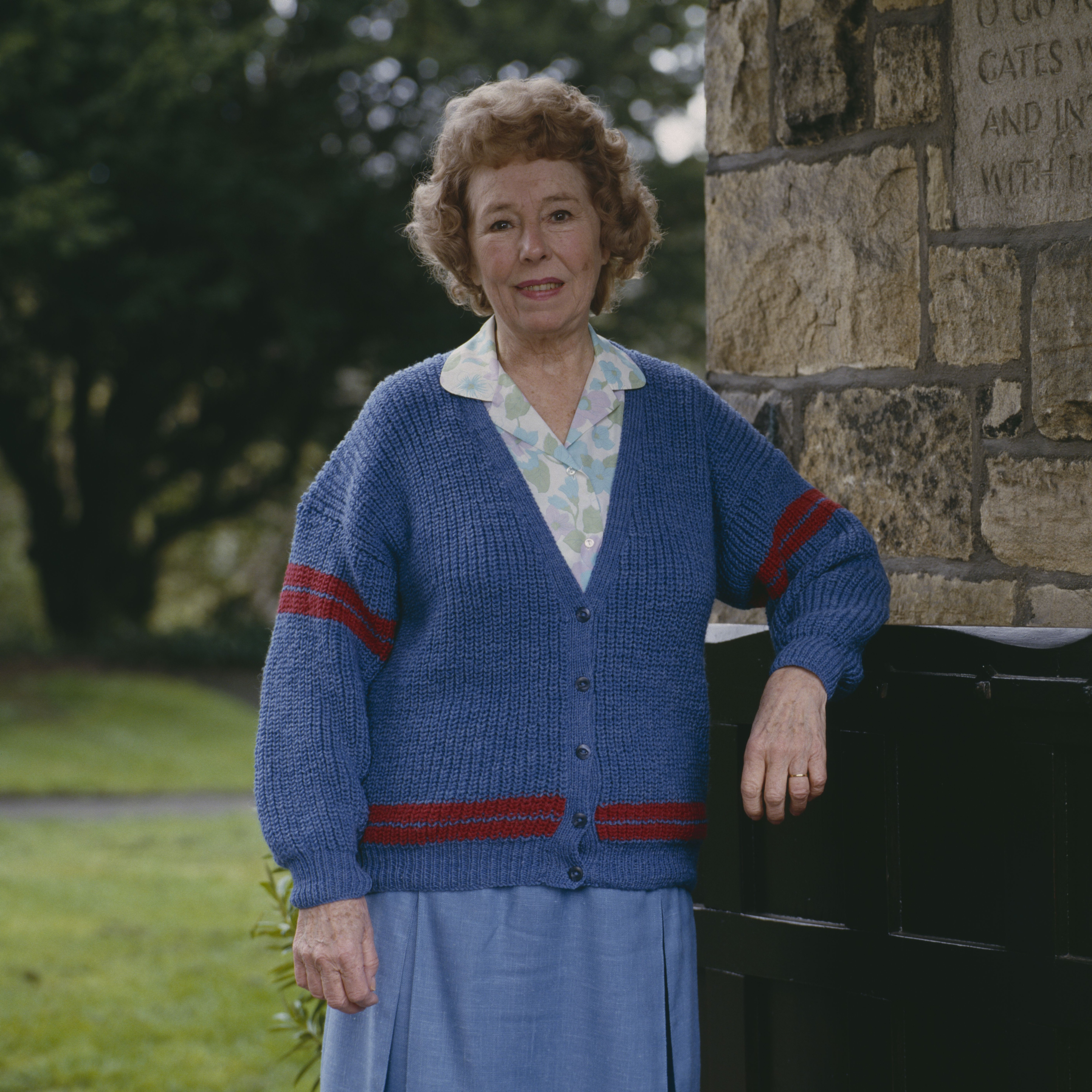 Editorial use only Mandatory Credit: Photo by ITV/Shutterstock (7765730di) Sheila Mercier (as Annie Sugden) 'Emmerdale' TV Series - 1992 Emmerdale Farm is a long-running British soap opera set in Emmerdale, a fictional village in the Yorkshire Dales. Created by Kevin Laffan, it first broadcast on 16 October 1972 and produced by ITV Yorkshire.