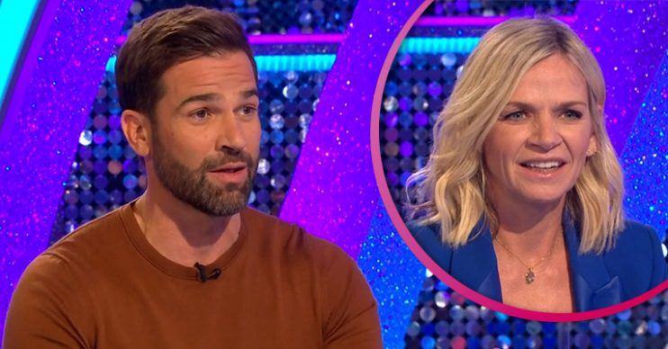 Gethin Jones and Zoe Ball