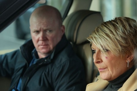 Shirley and Phil EastEnders