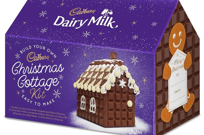 Cadbury Launches Build Your Own Dairy Milk Chocolate Cottage