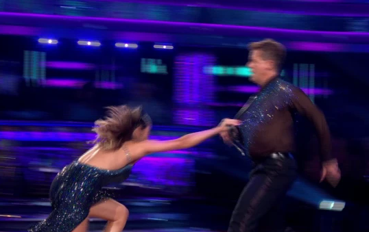 Strictly viewers accuse Katya Jones of faking fall on live show