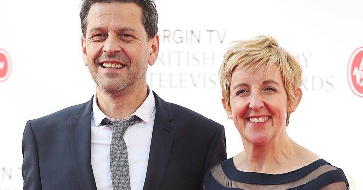 Julie Hesmondhalgh husband Ian Kershaw