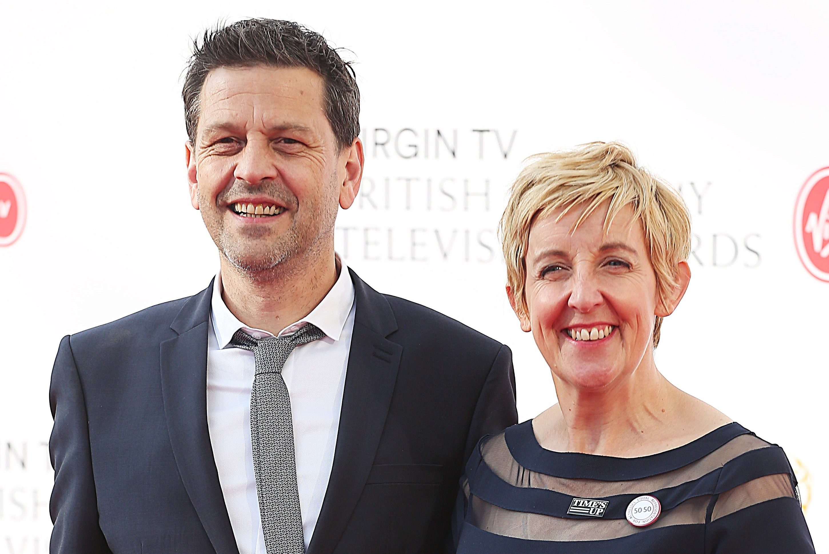 Julie Hesmondhalgh husband Ian Kershaw