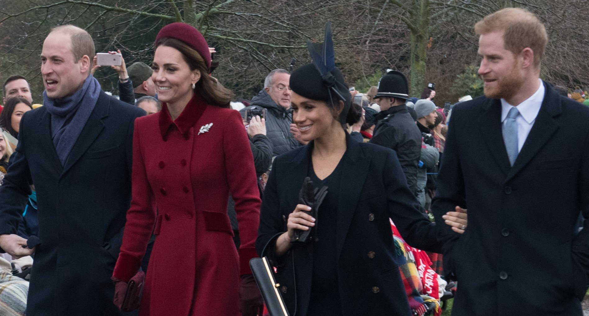 William and Kate reunite with Meghan and Harry for TV project
