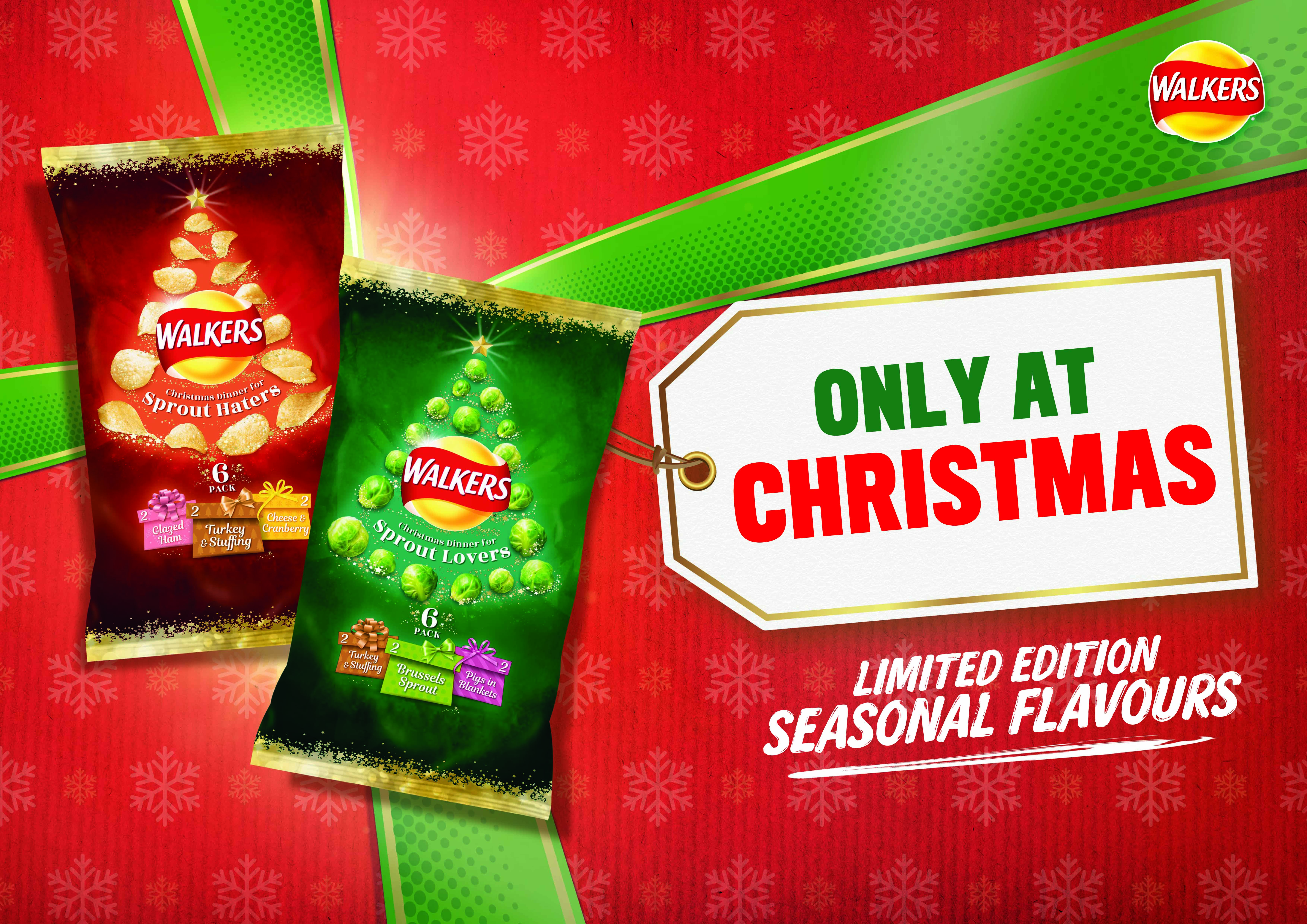 Christmas Hater.Walkers Is Bringing Back Brussels Sprout Flavour Crisps By