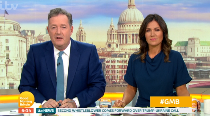 Piers Morgan hits back as GMB guest grills him on his sex life on air