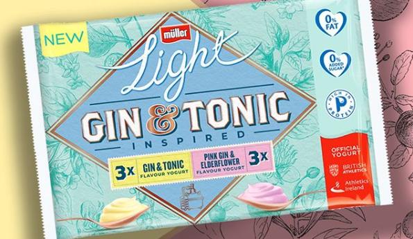 Tesco selling Gin & Tonic AND pink gin yoghurts
