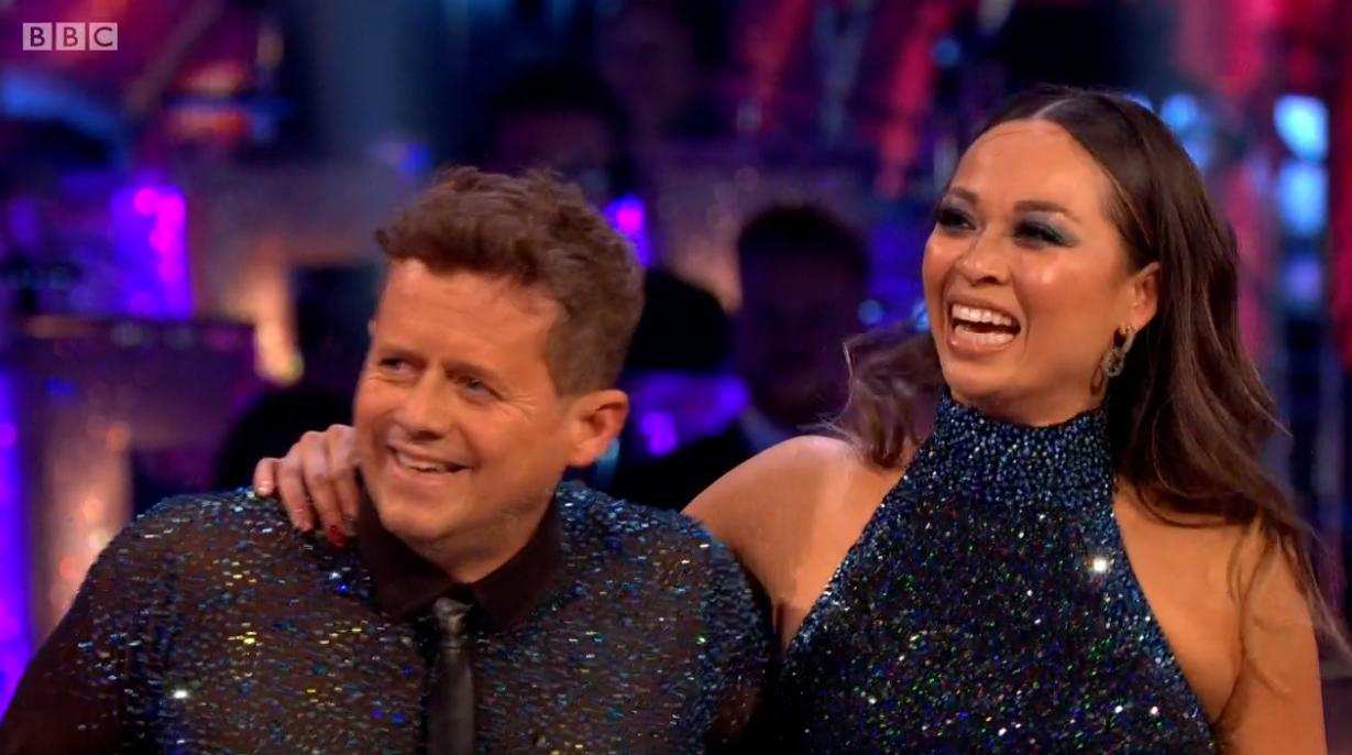 Mike Bushell and Katya Jones on Strictly