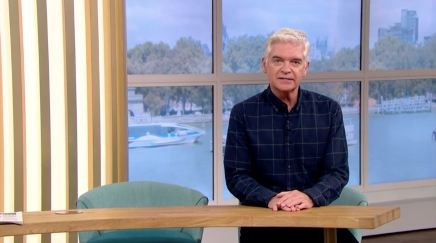 Holly Willoughby goes missing on This Morning forcing Phillip Schofield to open the show alone